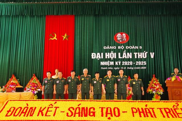 Quân khu 4 Tổ chức thành công Đại hội Đảng bộ Đoàn KT-QP 5