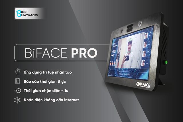 """Ra mắt sản phẩm BiFace Pro chấm công """"made in Vietnam"""" với công nghệ AI"""