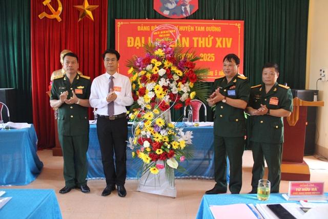 Tam Đường Lai Châu  Nâng cao sức mạnh tổng hợp của lực lượng quân sự trong nhiệm kỳ mới