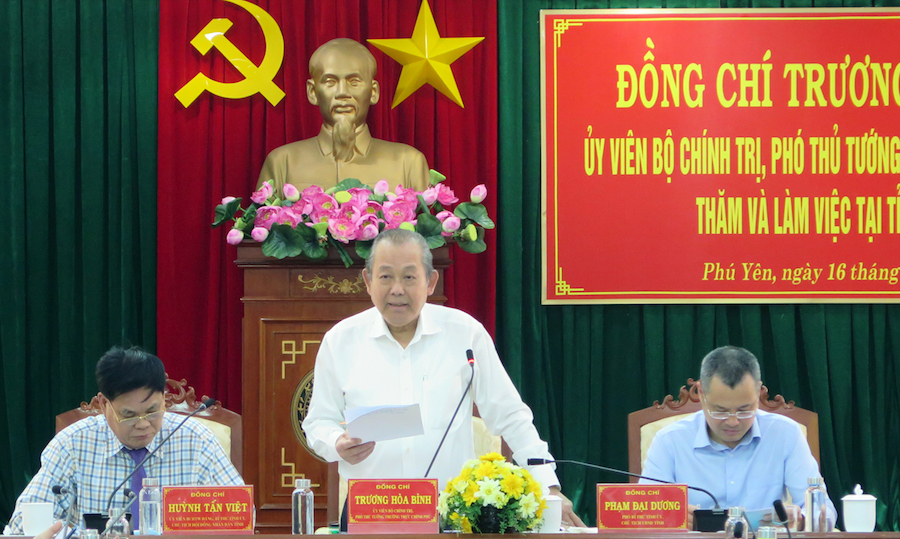Phú Yên phải phát huy lợi thế liên kết vùng để phát triển kinh tế xã hội