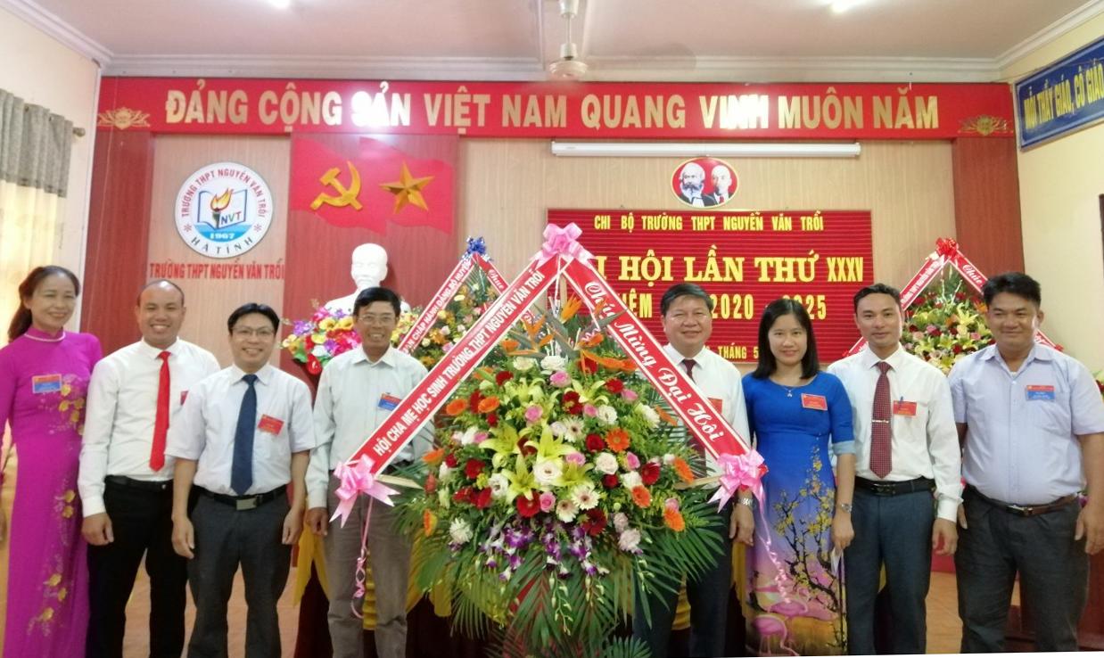 Hà Tĩnh Đại hội Chi bộ Trường THPT Nguyễn Văn Trỗi, nhiệm kỳ 2020 – 2025