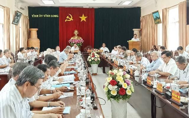Vĩnh Long thông báo nhanh kết quả Hội nghị Trung ương 12, khóa XII