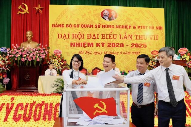 Đại hội Đảng bộ Sở Nông nghiệp và Phát triển nông thôn Hà Nội, nhiệm kỳ 2020 - 2025