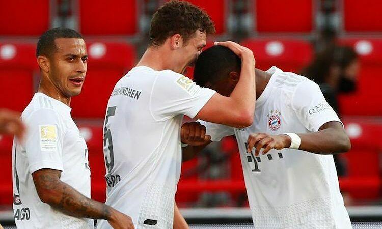 Bayern củng cố ngôi đầu sau COVID-19