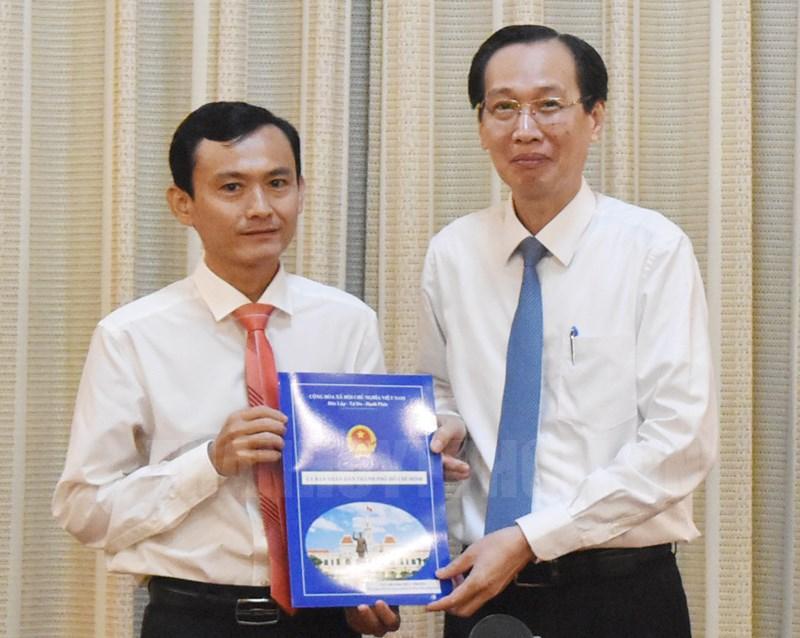 Bổ nhiệm Phó Giám đốc Sở Nông nghiệp và Phát triển nông thôn TP Hồ Chí Minh
