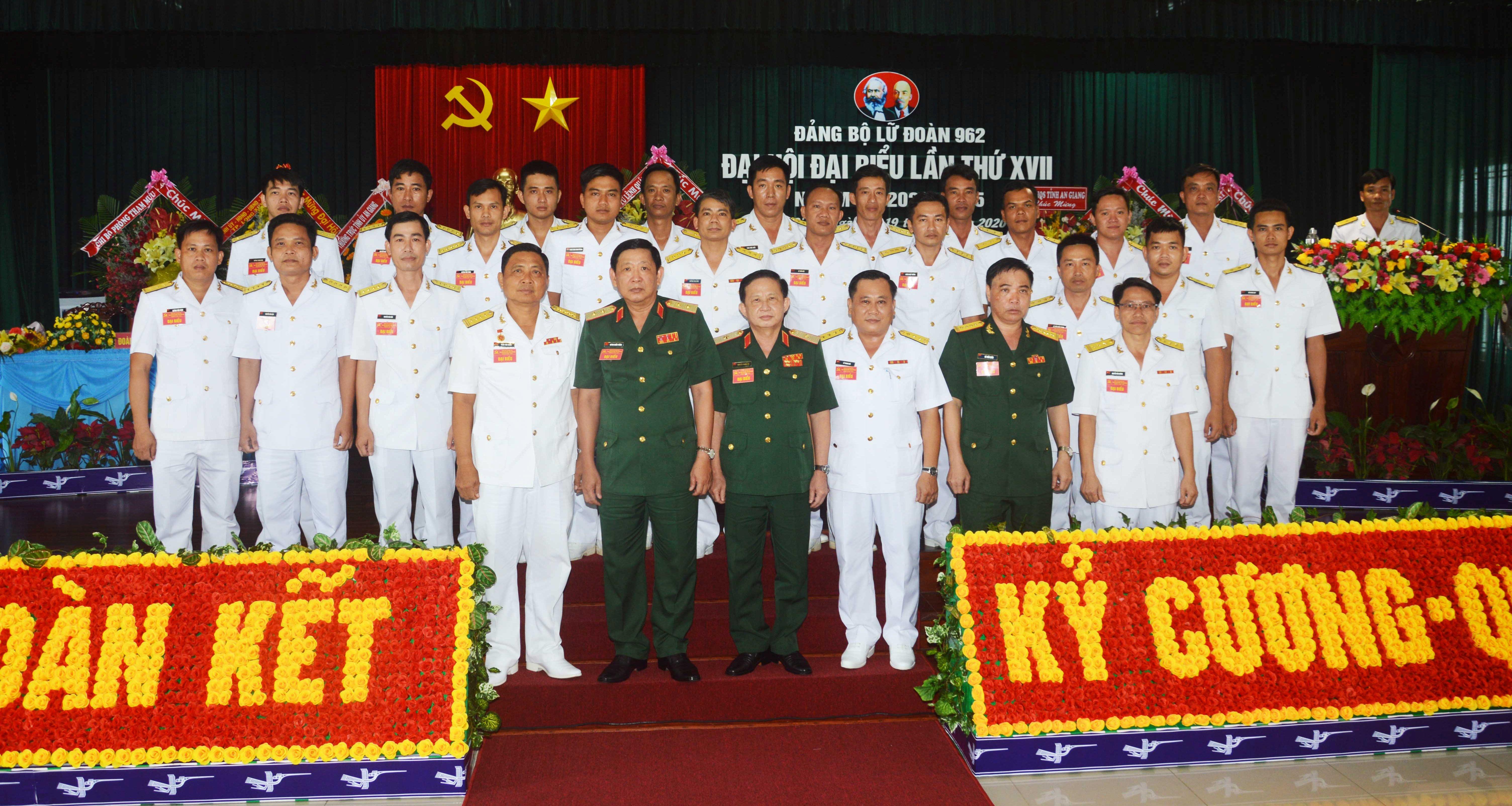 Đảng bộ Lữ đoàn 962 tổ chức thành công Đại hội lần thứ XVII