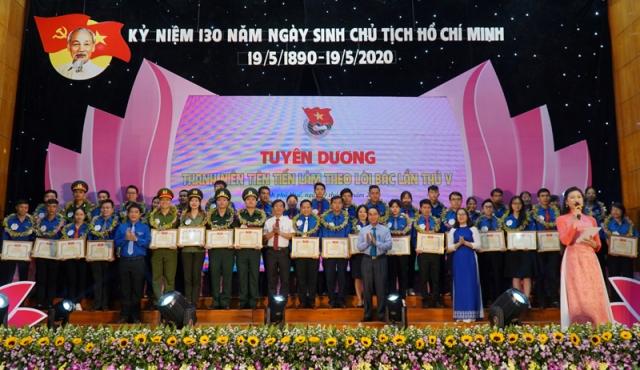 Thừa Thiên Huế Tuyên dương thanh niên tiên tiến làm theo lời Bác