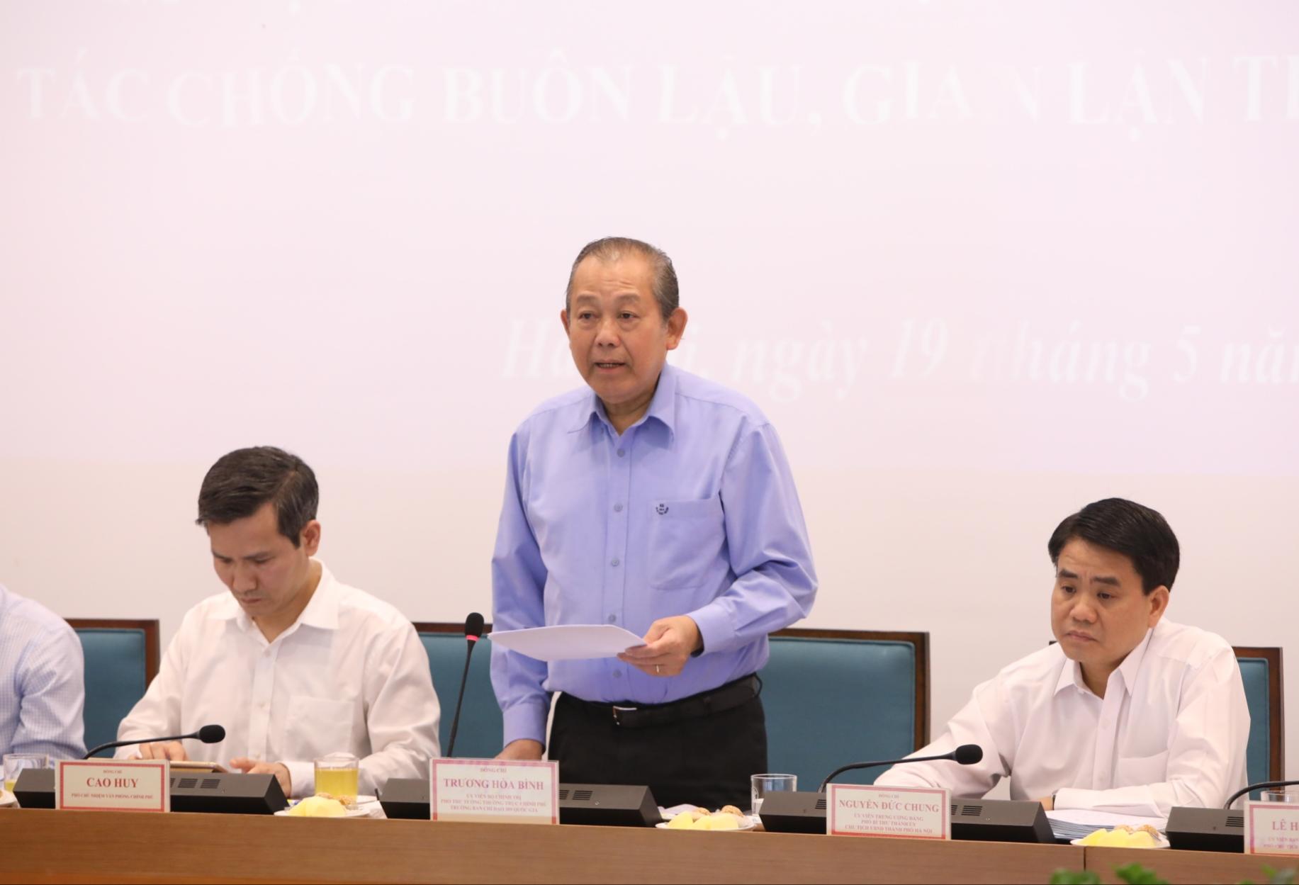 Không có vùng cấm trong chống buôn lậu, gian lận thương mại và hàng giả tại Hà Nội