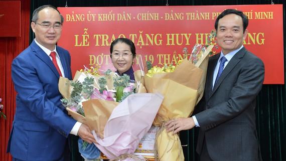 Đảng ủy Khối Dân - Chính - Đảng TP Hồ Chí Minh kỷ niệm 130 năm sinh nhật Bác