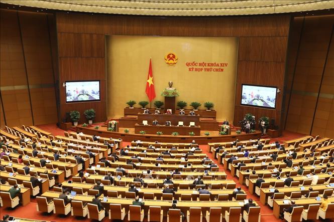 Thông cáo báo chí số 02, Kỳ họp thứ 9, Quốc hội khóa XIV