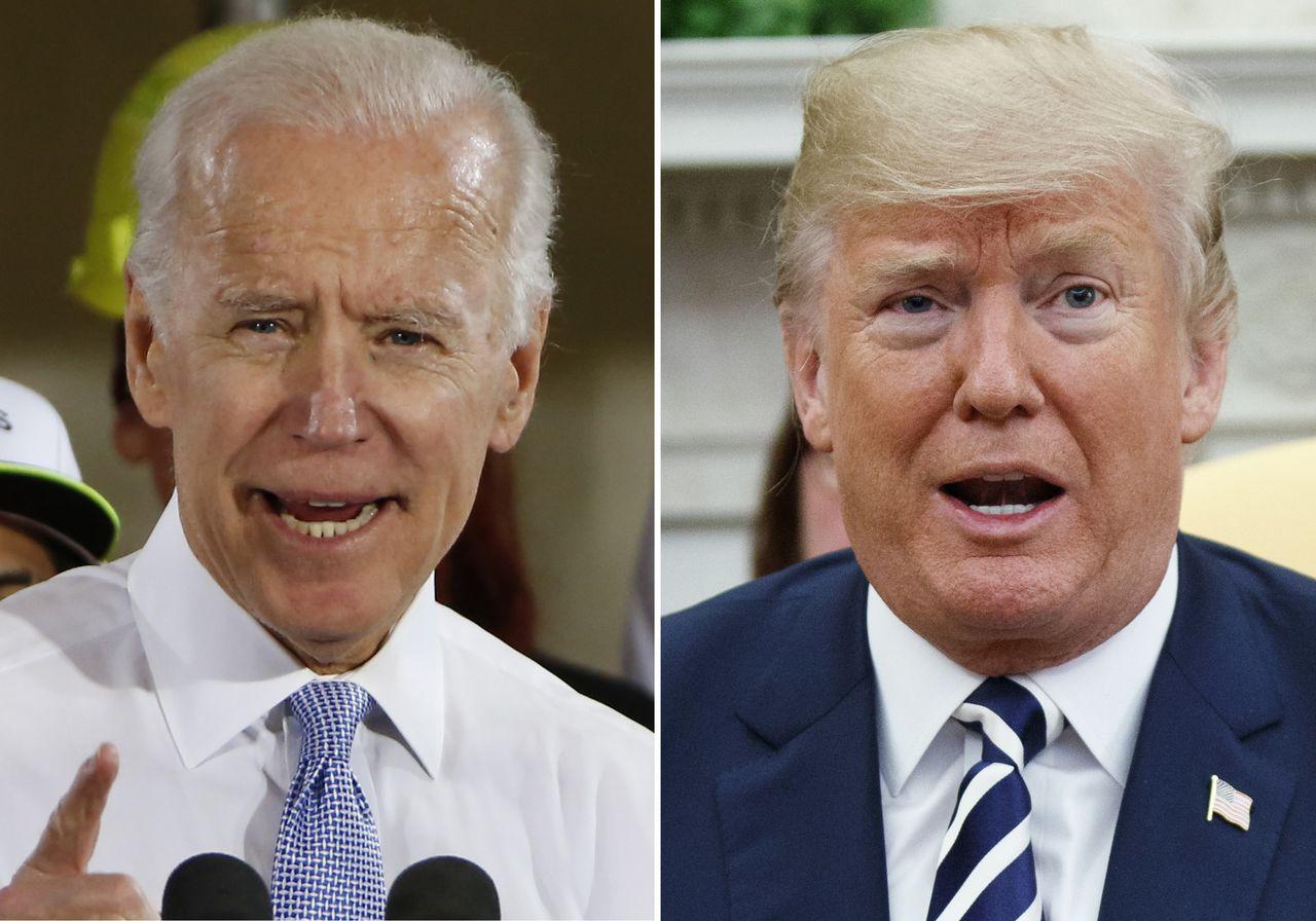 Bầu cử Mỹ 2020 Ứng cử viên Joe Biden dẫn trước Tổng thống Trump tại 3 bang chiến lược