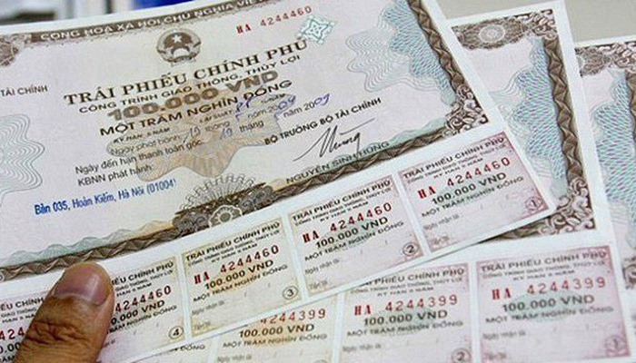Đấu thầu thành công 4 200 tỷ đồng trái phiếu Chính phủ