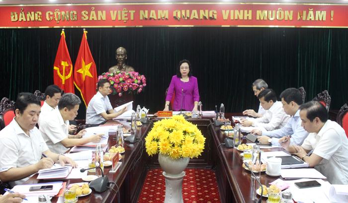 Chuẩn bị điều kiện, tổ chức thành công Đại hội Đảng bộ quận Ba Đình và Khối các CQ TP Hà Nội