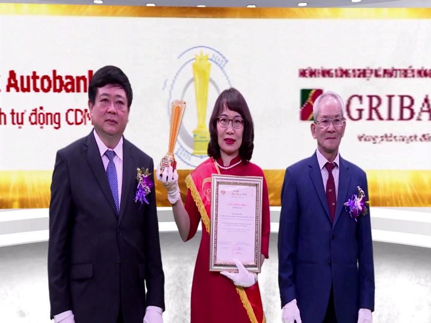 Agribank AutoBank CDM 24 7 - Hệ thống xuất sắc trong lĩnh vực Ngân hàng Sao Khuê 2020
