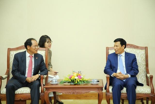 Thúc đẩy hợp tác văn hóa Việt Nam - Hàn Quốc