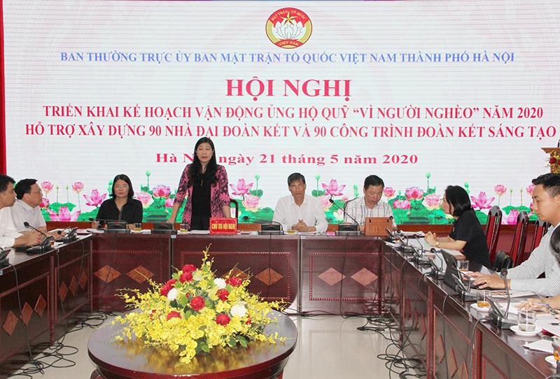 Hà Nội hỗ trợ xây dựng 90 nhà Đại đoàn kết cho hộ nghèo