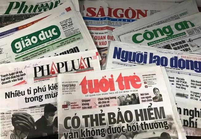 Đến năm 2025, TP Hồ Chí Minh còn 19 cơ quan báo chí