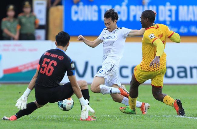 Khai mạc Cúp Quốc gia 2020 Dược Nam Hà Nam Định thắng Hoàng Anh Gia Lai