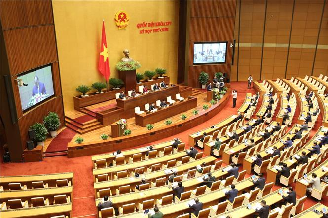 Thông cáo báo chí số 05, Kỳ họp thứ 9, Quốc hội khóa XIV