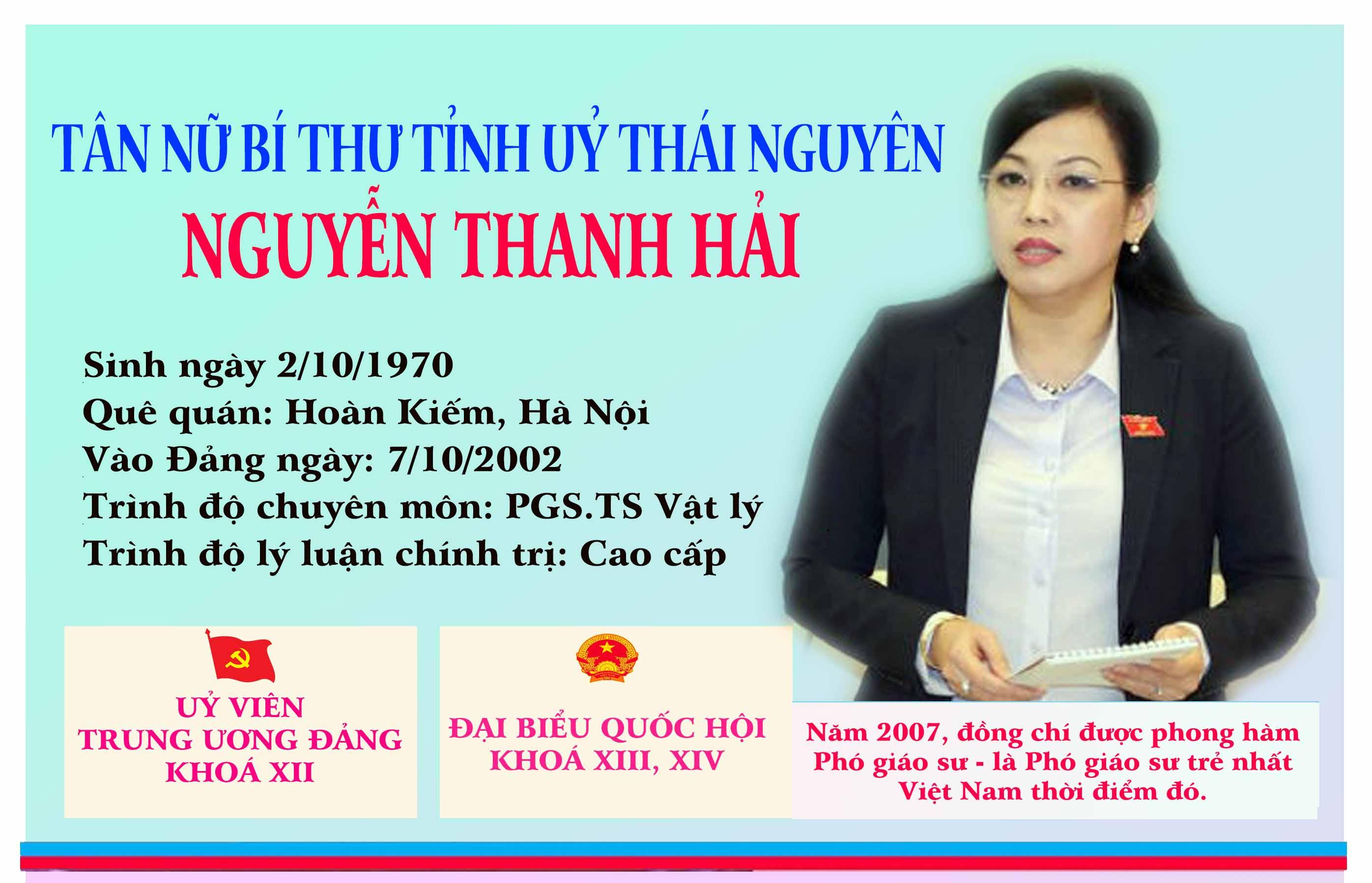 [Infographic] Chân dung tân Bí thư Tỉnh uỷ Thái Nguyên
