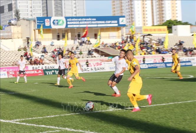 Cúp Quốc gia 2020 Sông Lam Nghệ An thắng Bình Định trên sân nhà với tỷ số 1-0