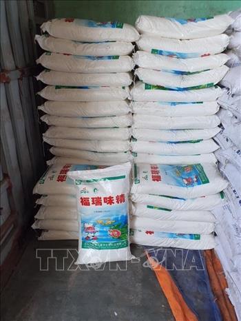 Khởi tố 2 đối tượng sản xuất mì chính giả