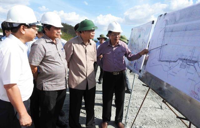 Kiểm tra công tác ứng phó nắng hạn tại Ninh Thuận và Bình Thuận