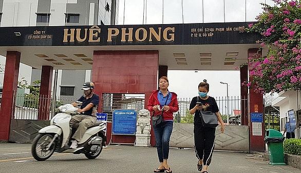 Bố trí việc làm cho hơn 2 200 lao động của Công ty Huê Phong
