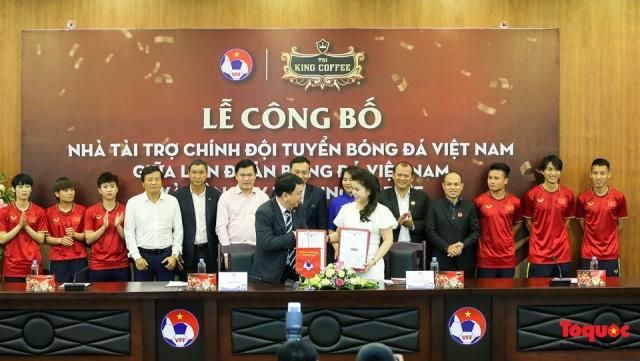 Công bố nhà tài trợ chính cho đội tuyển Quốc gia Việt Nam