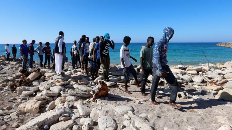 Libya Hơn 1 000 người vượt biên trái phép vào châu Âu