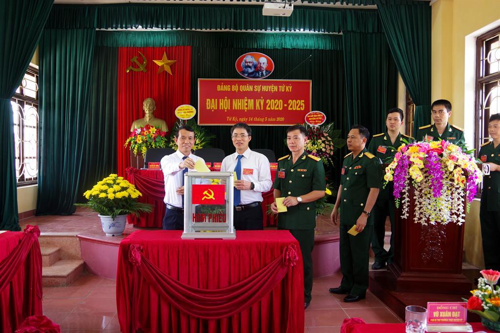 Hải Dương hoàn thành đại hội Đảng bộ cấp cơ sở trong lực lượng vũ trang