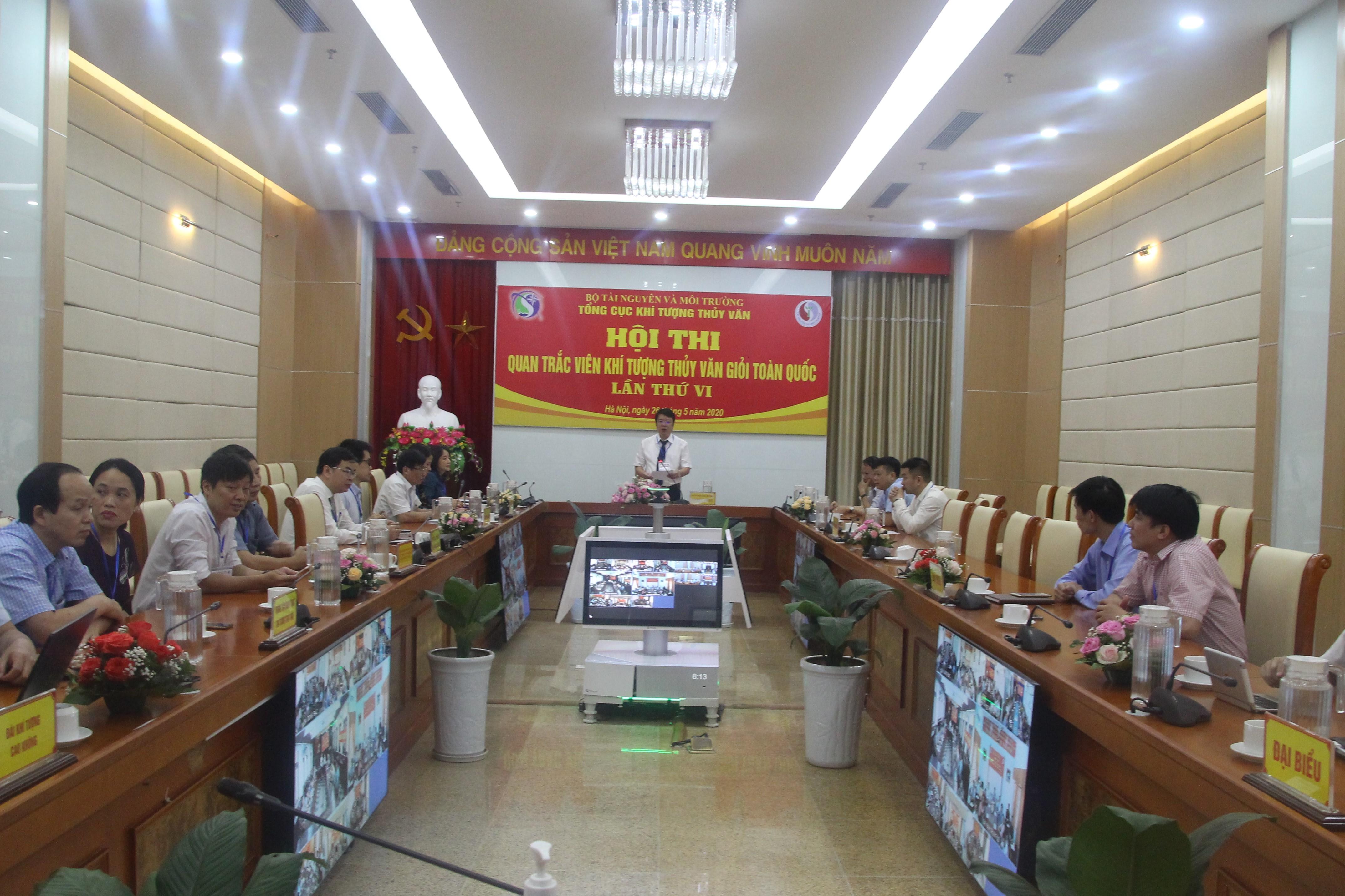 Khai mạc Hội thi Quan trắc viên Khí tượng thủy văn toàn quốc lần thứ 6