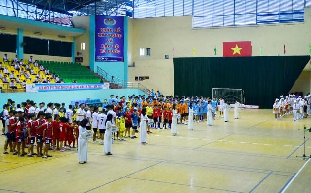 Quảng Ninh Khai mạc Giải bóng đá khu vực II Hội khỏe Phù Đổng lần thứ X-2020