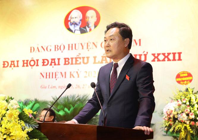 Bí thư cấp huyện đầu tiên được bầu trực tiếp tại Hà Nội đạt 99,54 số phiếu