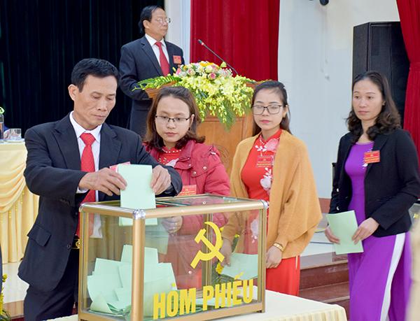 Trấn Yên hoàn thành đại hội cấp cơ sở nhiệm kỳ 2020-2025
