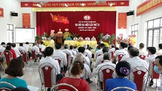 Thành ủy Yên Bái hoàn thành đại hội cấp cơ sở nhiệm kỳ 2020 – 2025