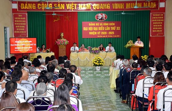 Yên Bình hoàn thành đại hội chi, đảng bộ cấp cơ sở nhiệm kỳ 2020 - 2025