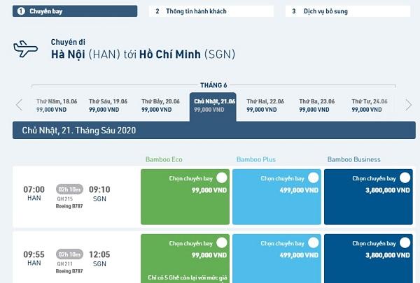 Bamboo Airways tăng tần suất bay nội địa
