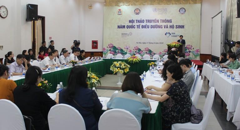 Việt Nam cần tăng cường đầu cư cho đào tạo điều dưỡng