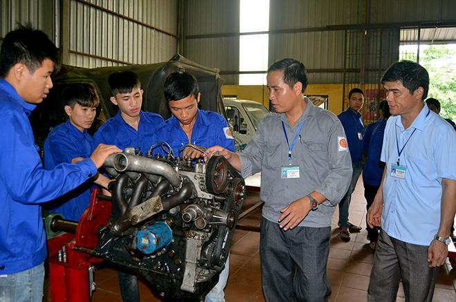 Trường Cao đẳng nghề Kỹ thuật - Công nghệ Tuyên Quang Đào tạo nghề đáp ứng nhu cầu xã hội