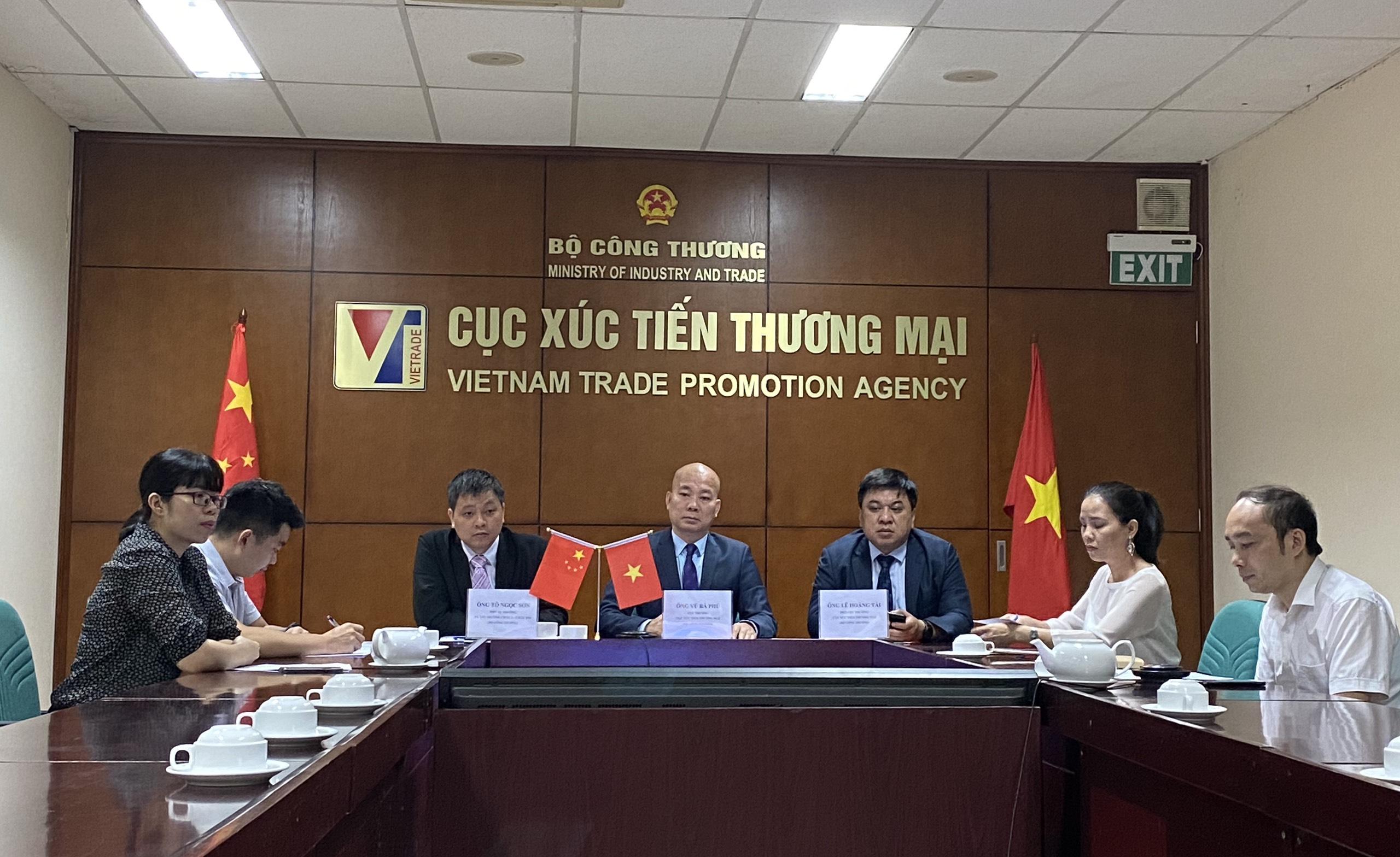 Giao thương trực tuyến nông sản, thực phẩm Viêt Nam với thị trường Vân Nam Trung Quốc