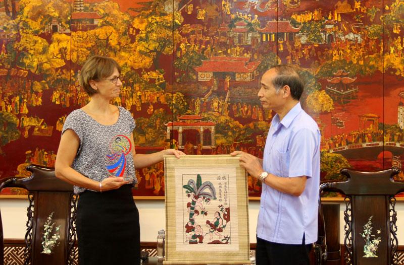 Thúc đẩy quan hệ hữu nghị, hợp tác giữa tỉnh Bắc Ninh và Đan Mạch