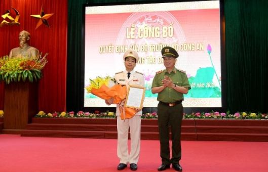 Đại tá Lê Xuân Minh giữ chức Giám đốc Công an tỉnh Hòa Bình