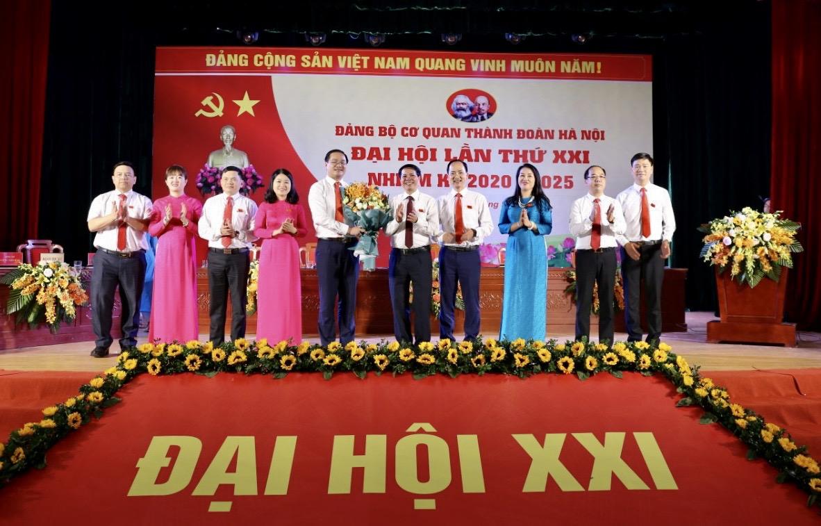 Đại hội lần thứ XXI Đảng bộ cơ quan Thành đoàn Hà Nội