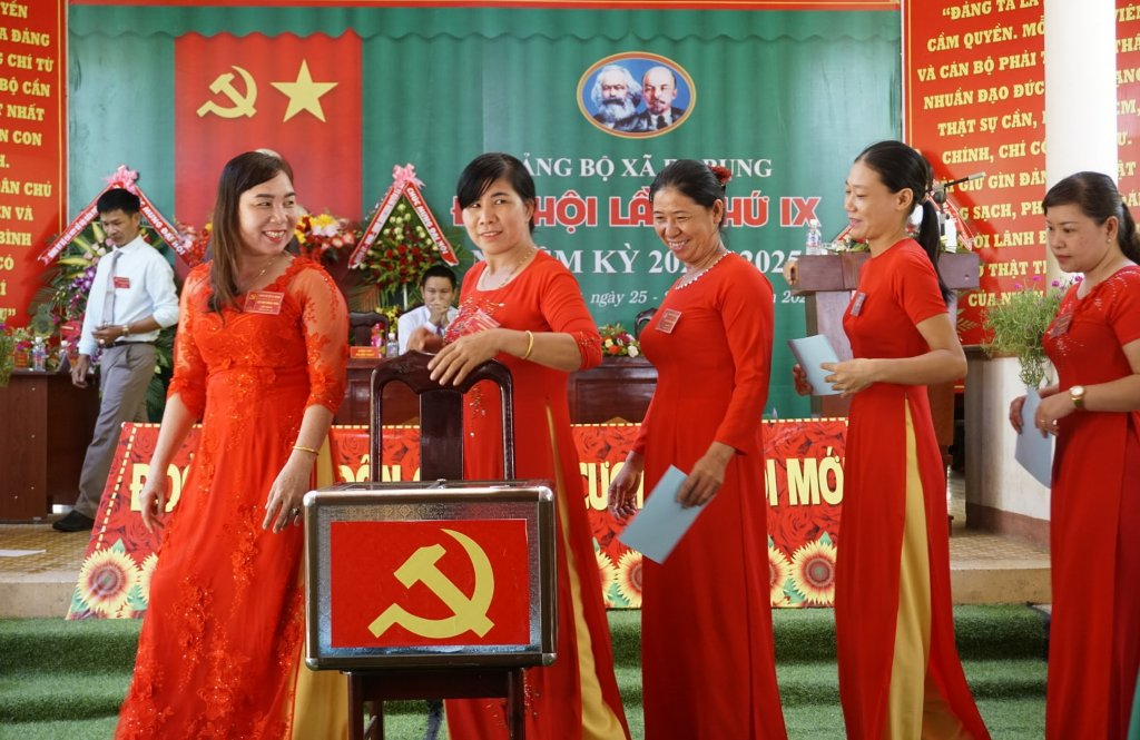 Đắk Lắk Tổ chức thành công nhiều đại hội đảng bộ cơ sở