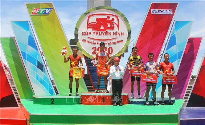 Nguyễn Dương Hồ Vũ về nhất chặng 8 Giải đua xe đạp Cúp truyền hình TPHCM