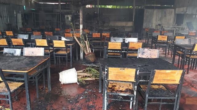 Kiên Giang xảy ra vụ cháy lớn tại nhà hàng hải sản