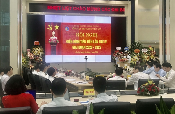 176 cá nhân tiêu biểu dự Hội nghị điển hình ngành KTTV