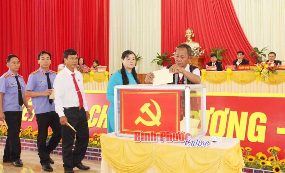 Bình Phước Tổ chức thành công đại hội điểm