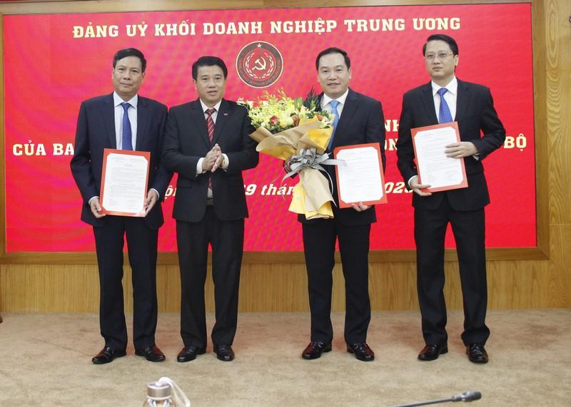 Đồng chí Hồ Xuân Trường giữ chức Trưởng Ban Tổ chức Đảng ủy Khối Doanh nghiệp TƯ